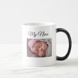 Mi taza de café personalizada sobrina de la foto
