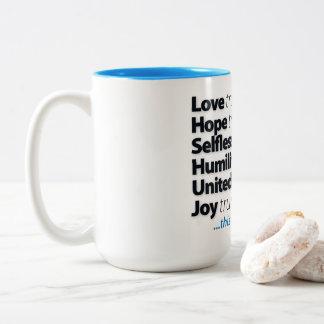 Mi taza diaria bien escogida
