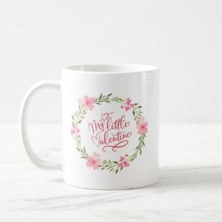 Mi taza floral de la pequeña tarjeta del día de