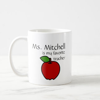 Mi taza preferida del profesor - personalizar