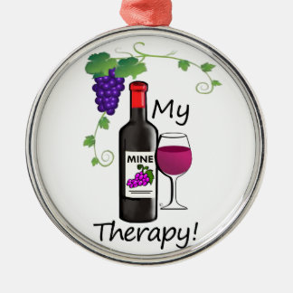 Mi terapia adorno de cerámica