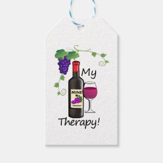 Mi terapia etiquetas para regalos