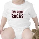 Mi tía Rocks Trajes De Bebé