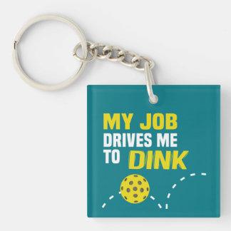 """""""Mi trabajo me conduce al llavero de Dink"""""""