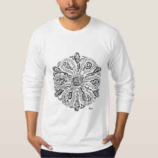 Mi trayectoria (una mandala inspirada Rumi) Camiseta