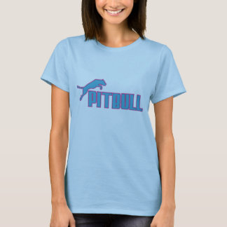 Mi trullo/púrpura de Pitbull Camiseta