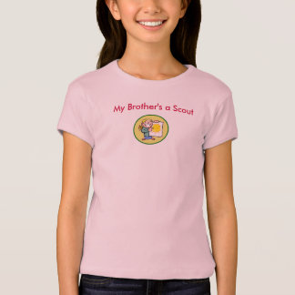 Mi un explorador de Brother - insignia al mérito Camiseta