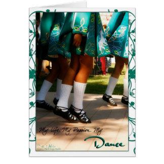 Mi vida, mi pasión, mi tarjeta de la danza