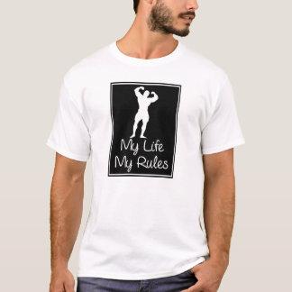 Mi vida mis reglas camiseta