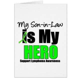 Mi yerno es mi héroe - linfoma felicitación