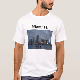 miami-305, Miami, FL, 305 Camiseta