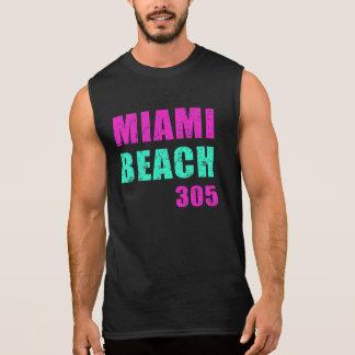 Miami Beach 305 Camiseta Sin Mangas