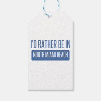 Miami Beach del norte Etiquetas Para Regalos