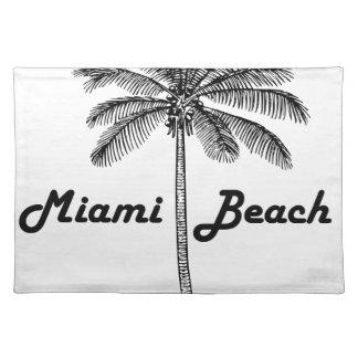 Miami Beach Salvamanteles