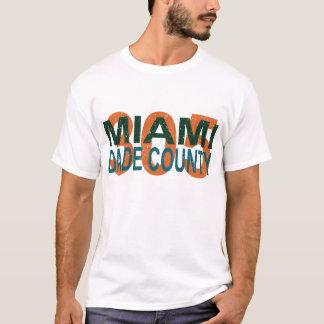 Miami, dade, 305, la Florida, I-95, vicio, playa, Camiseta