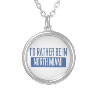 Miami del norte collar plateado
