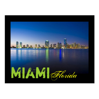Miami, la Florida, los E.E.U.U. Postal