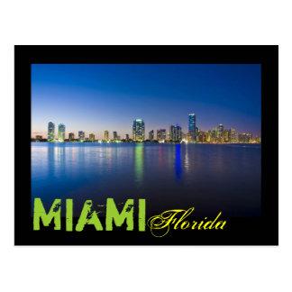 Miami, la Florida, los E.E.U.U. Postales