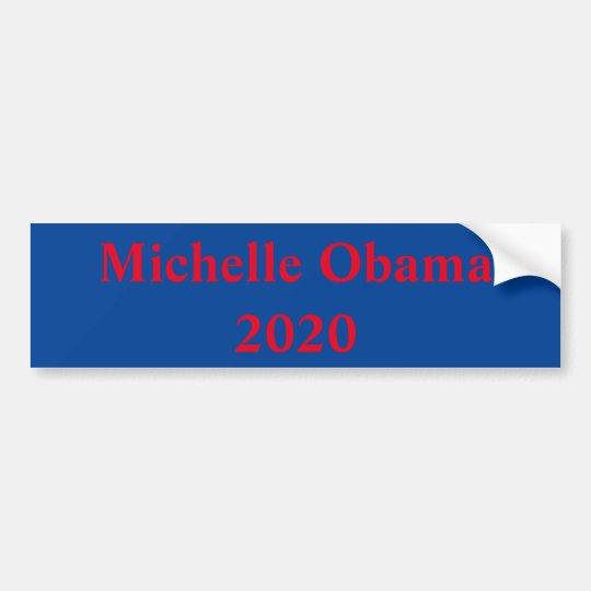 Michelle Obama para el presidente en 2020 Pegatina Para Coche