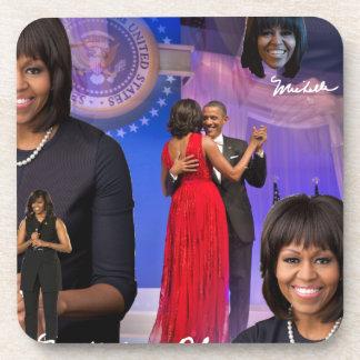 Michelle Obama Posavasos