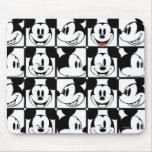 Mickey clásico hace frente alfombrilla de ratón