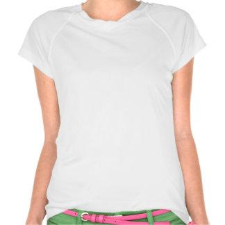 Micro-Fibra del funcionamiento de las señoras de P Camiseta