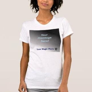 Micro-Fibra del funcionamiento de las señoras sin Camiseta