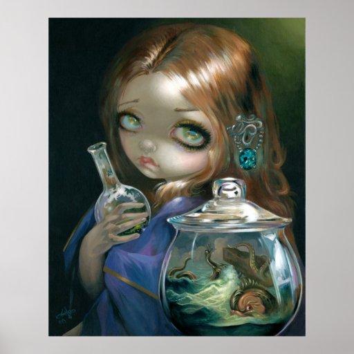 Microcosmos:  Surrealismo del estallido de la IMPR Poster