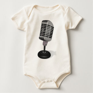 Micrófono de radio body para bebé