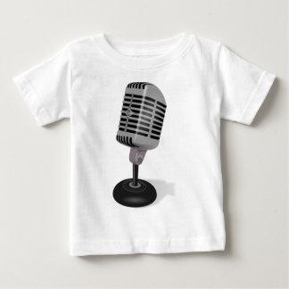 Micrófono de radio camiseta de bebé