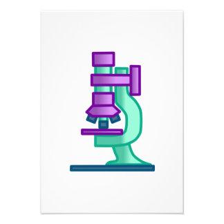 Microscopio de la ciencia anuncio