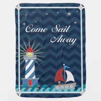 *Midnight* ausente de la vela náutica del Mantita Para Bebé