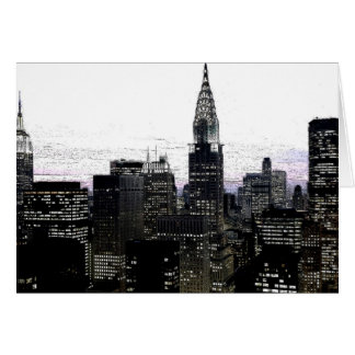 Midtown de New York City Tarjeta De Felicitación