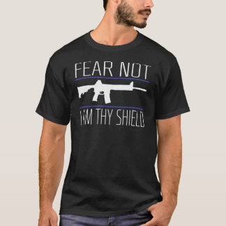 Miedo no, camiseta azul
