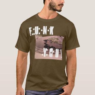 Miedo usted camiseta