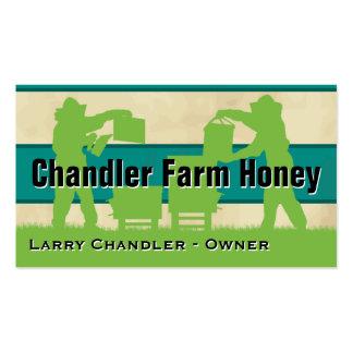 Miel de la granja de la familia personalizada tarjetas de visita