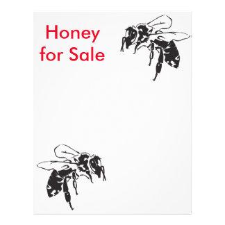 miel para la venta folleto 21,6 x 28 cm