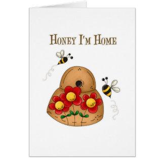 Miel soy hogar tarjetas