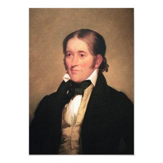 Miembro del Congreso Davy Crockett por Chester Invitación 12,7 X 17,8 Cm