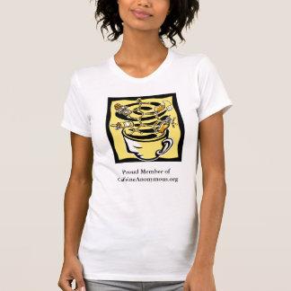 Miembro orgulloso de CaffeineAnonymous.org Camisetas
