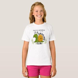 Miembro orgulloso del club de Snailing Camiseta