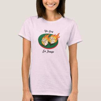 Mierdas y En Fuego de la soja de Gambling_Flaming Camiseta