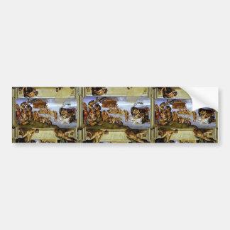 Miguel Ángel: Techo de la capilla de Sistine: La i Pegatina Para Coche