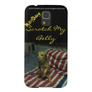 "Mikey Dawg ""Scrath caja de la galaxia S5 de mi Carcasa Galaxy S5"
