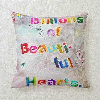 Mil millones de la almohada hermosa de los