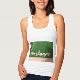 ¡Milagro conocido no puede conseguir a más Latino! Camiseta Con Tirantes