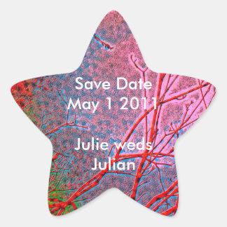 Milagros de la ESTRELLA - fecha de la reserva para Pegatinas Forma De Estrellaes Personalizadas