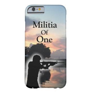 Milicia de un caso universal funda barely there iPhone 6