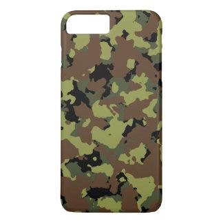 Militares Camo del verde de musgo Funda iPhone 7 Plus
