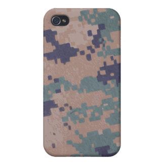 militares, camuflaje digital i del ejército iPhone 4 carcasas